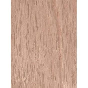 wood veneer oak red flat cut 2x8 psa backed wood