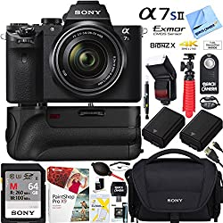 Sony A7s Ii Full-frame Mirrorless Camera Wfe 28-70mm Lens + 64gb Super Bundle
