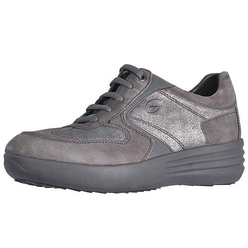 STONEFLY 105.305 mujeres grises zapatos cordones de zapatillas zeppetta comodidad 41: Amazon.es: Zapatos y complementos