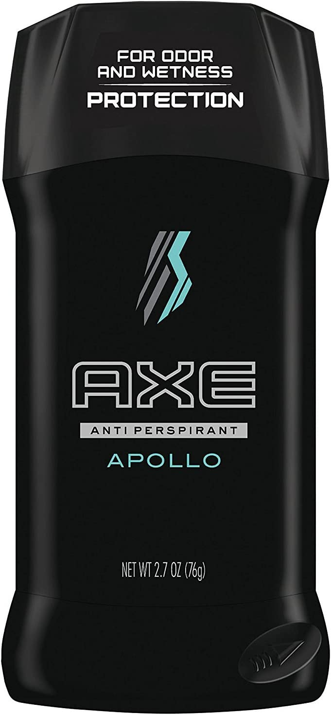 AXE Antiperspirant Deodorant Stick for Men, Apollo 2.7 Ounce (Pack of 1)