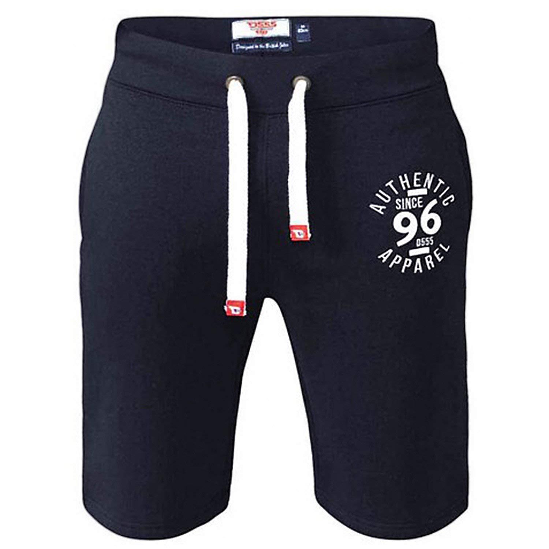 D555 Big para Hombre de Cama de Matrimonio de elástica en la Cintura Pantalones Cortos Duke Maletero New Combatir Casual
