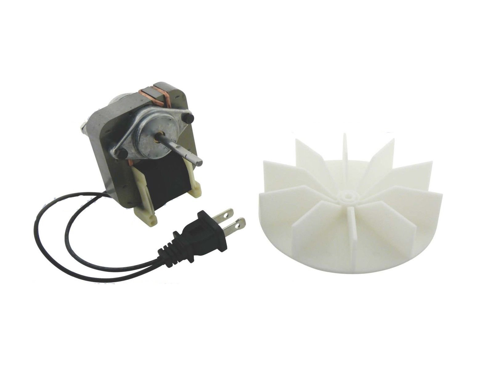 KHY Replacement Universal Bathroom Fan Electric Motor Kit with Fan 115 Volts C01575 for Nutone Fasco Broan Dayton