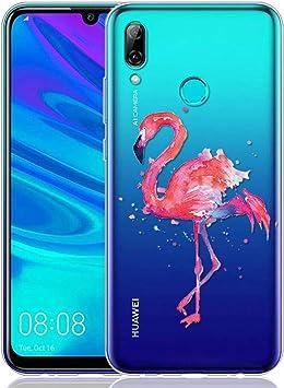 ZhuoFan Funda Huawei P Smart 2019, Cárcasa Silicona Transparente con Dibujos Diseño Suave Gel TPU Antigolpes de Protector Case Cover Fundas para Movil Huawei PSmart 6,21 Pulgadas, Avestruz: Amazon.es: Electrónica