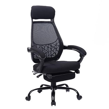 Amazoncom Giantex High Mesh Back Reclining Office Chair Computer