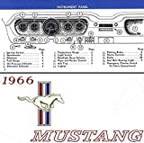 1966 FORD MUSTANG FACTORY OWNERS OPERATING & INSTRUCTION MANUAL - GUIDE. ALL MODELS. GT,hardtop, fastback and convertible 66