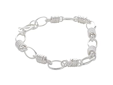 c5de64832b923e ARISIDH 92.5 Pure Sterling Silver Party Wear Bracelet for Men and Boys.:  Amazon.in: Jewellery
