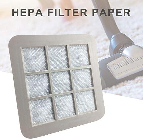 Filtro de aspiración de Aire con Filtro de algodón para aspiradora Philips FC5826 / FC5828 / FC5830 / FC8090 - Papel de Filtro HEPA Carefully: Amazon.es: Hogar