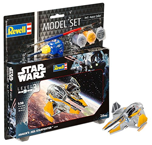 Revell Star Wars Rogue One Set Anakin's Jedi Starfighter Model Kit
