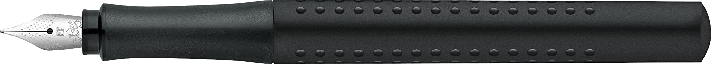 Faber-Castell 140994 F/üller Grip 2011 1 St/ück Feder EF Schwarz
