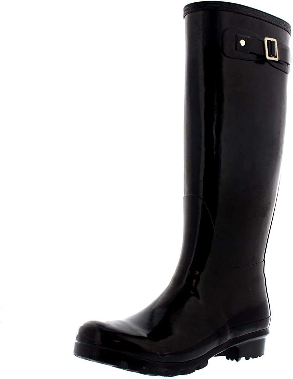 Womens Original Tall Gloss Winter Waterproof Wellies Rain Wellington Boots