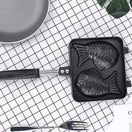 Gaufrier Antiadhésif 2 Moisissures Poisson Gâteau Gaufre Moule Maker Bricolage Muffins Moule Ustensiles De Cuisson Accueil Cuisine Bricolage Dessert Cuisine Plate Pan 2 Paquet