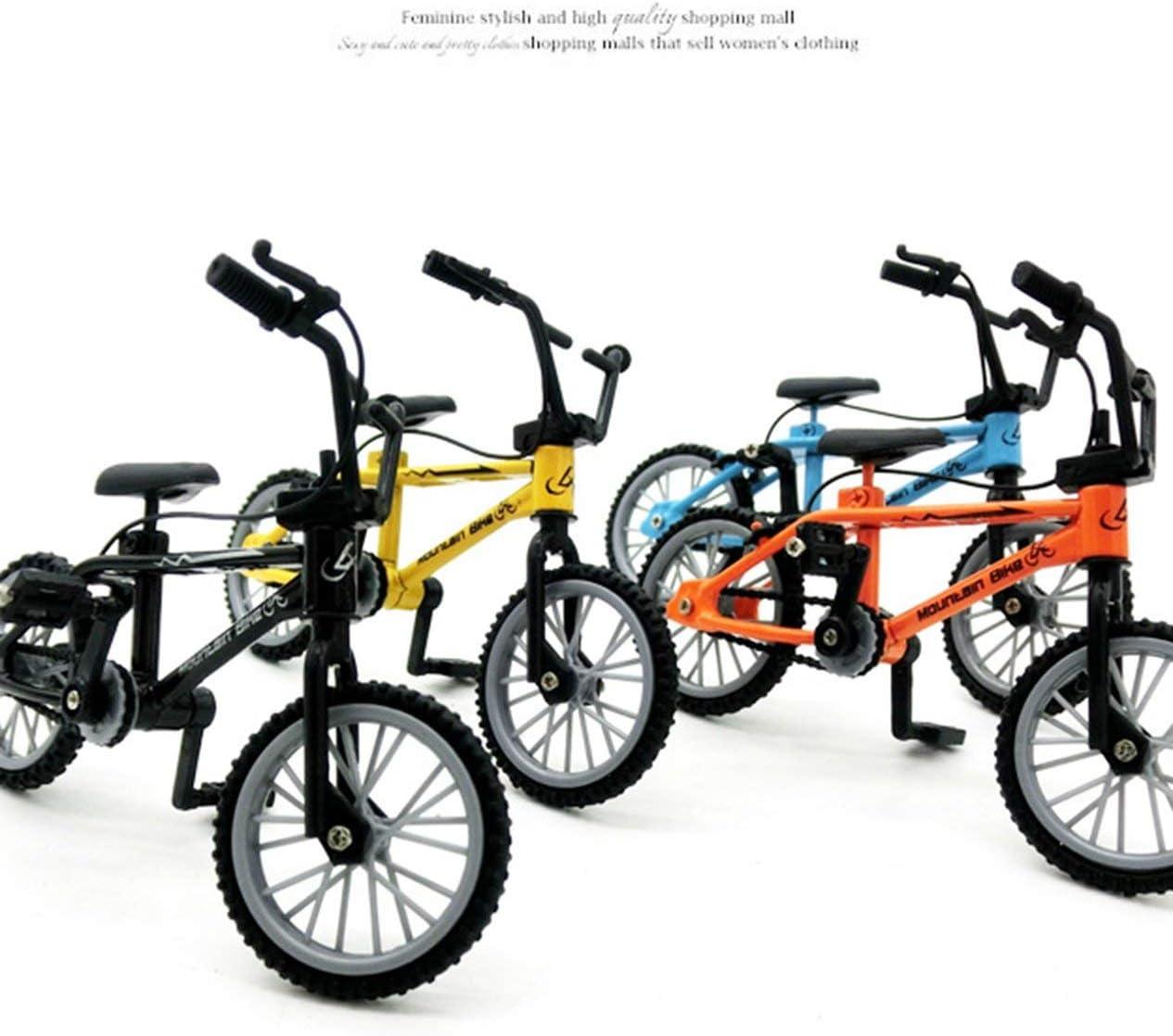 Mini-Finger-BMX Set Bike Fans Toy Alloy Finger BMX Functional Kids Bicycle modle Finger Bike BMX Toys Gift-Black BCVBFGCXVB