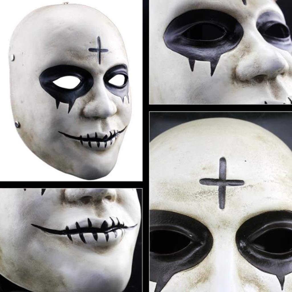 Halloween Weihnachten Maske  Herrench Räumung Plan Plan Plan Maske Film Horror verkleiden Sich Bar Party Spukhaus Prop Film Maske Masken (Farbe : Weiß, Größe : 16  26CM/6  10inch) 76a28d