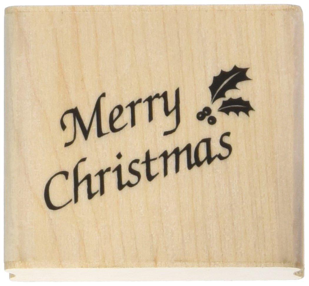 Art Francobolli 21 x 33 mm francobolli IncaBuon Natale, nero Personal Impressions 110A