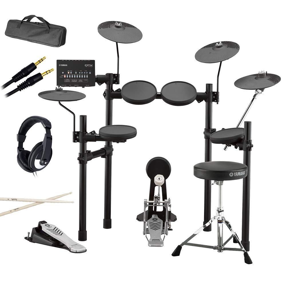 YAMAHA DTX432KUPGS 3シンバル拡張 自宅練習7点セット 電子ドラムセット ヤマハ   B07FVY4QD5