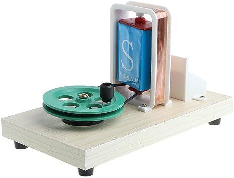 Modelo de Generador Eléctrico Manual Juguete de Experimento Científico para Niños: Amazon.es: Juguetes y juegos