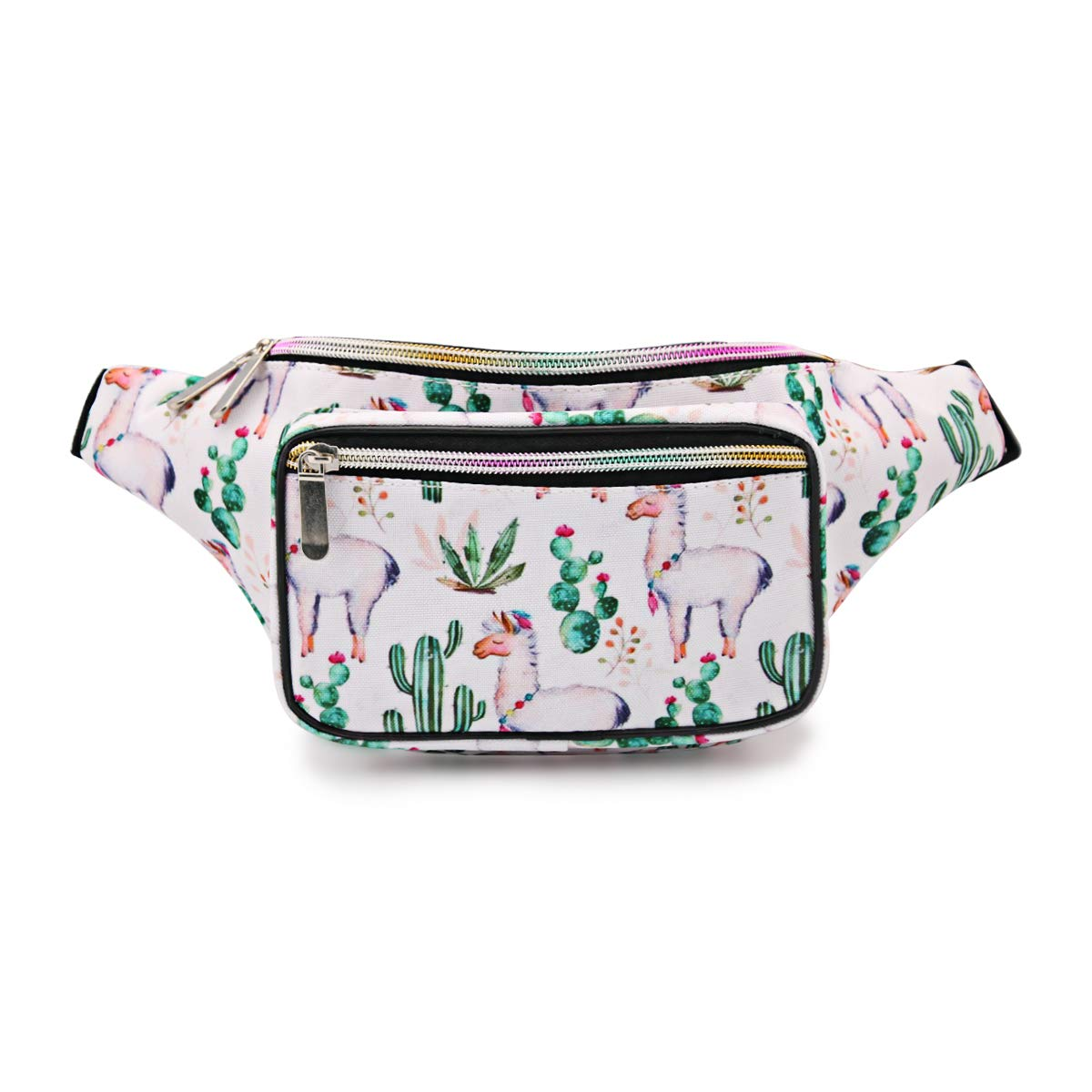 daebb5e14a8f Mum's memory Cute Fanny Pack for Women 80's Waterproof Girls Waist Bag with  Adjustable Belt for Traveling, Rave, Festival, Party and Daily Used