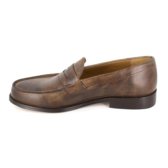 Pierre Cardin - Mocasines de Otra Piel Hombre, (coñac), 43: Amazon.es: Zapatos y complementos