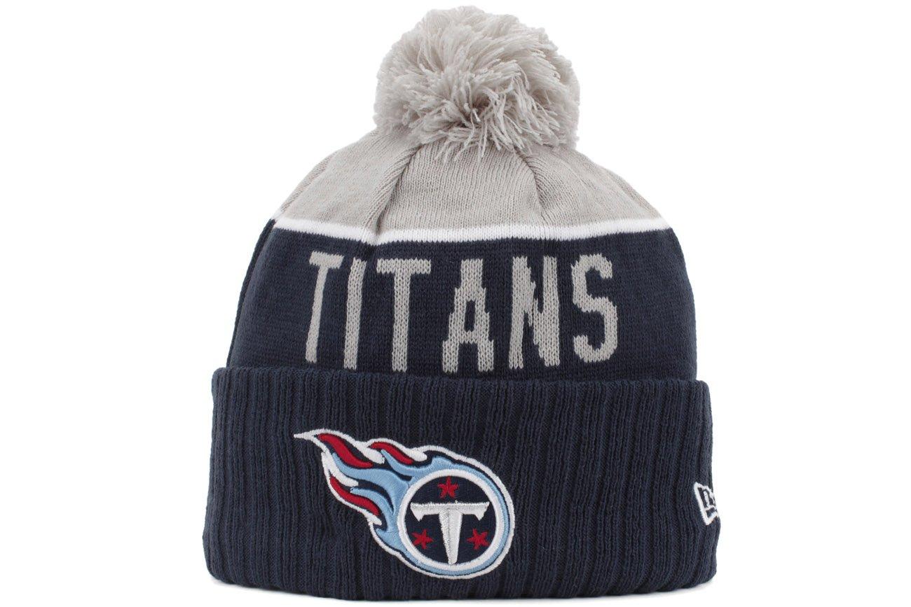 9e8ae139b21715 Amazon.com : Tennessee Titans New Era 2015 NFL Sideline On Field Sport Knit  Hat : Sports & Outdoors
