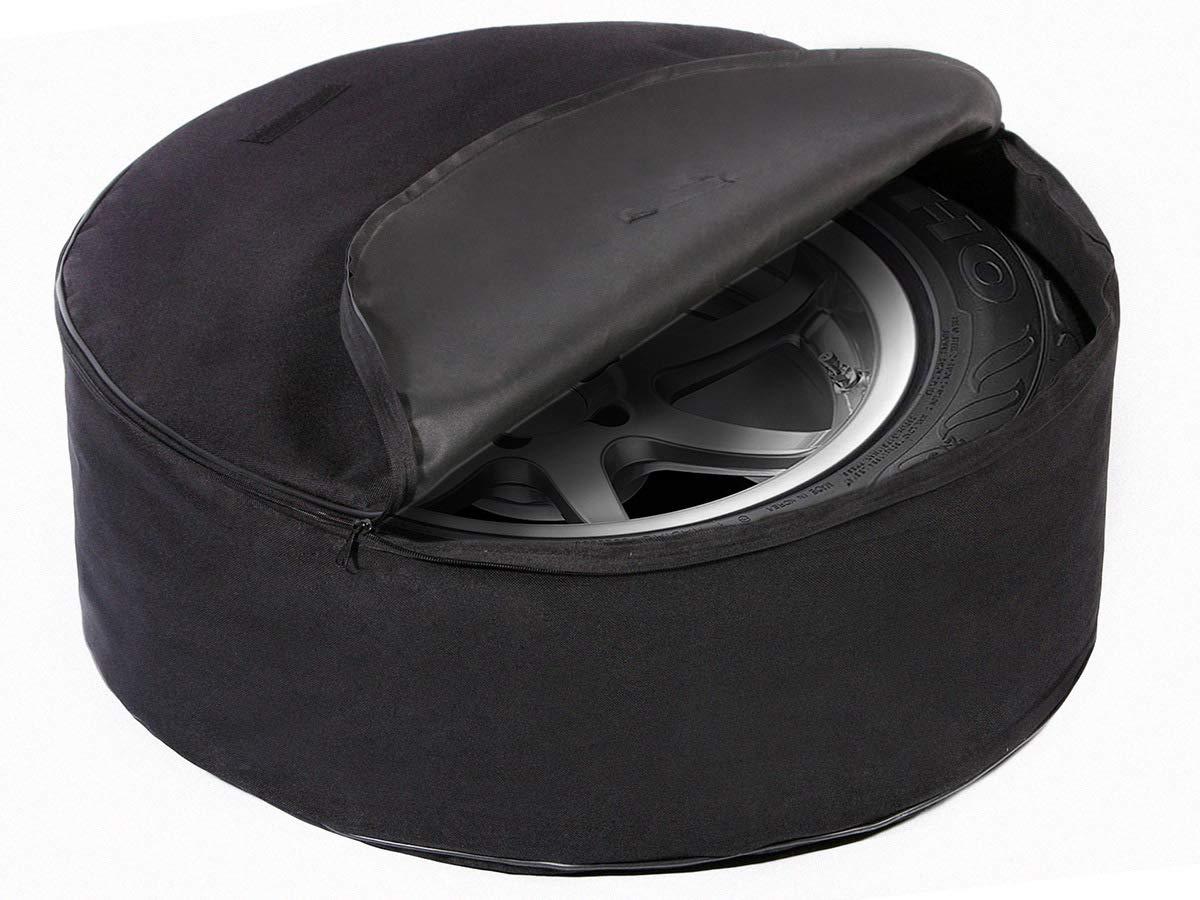 097 Qualit/é Premium Housse de Roue de Secours Noire pour Auto 15-17 XXL 68 cm x 24 cm