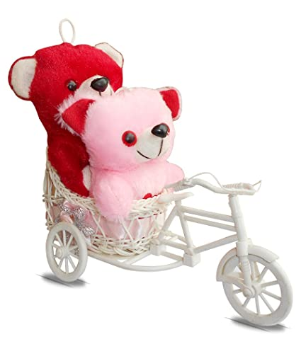 Buy Sky Trends Love Cycle With Couple Teddy Romantice Gifts For