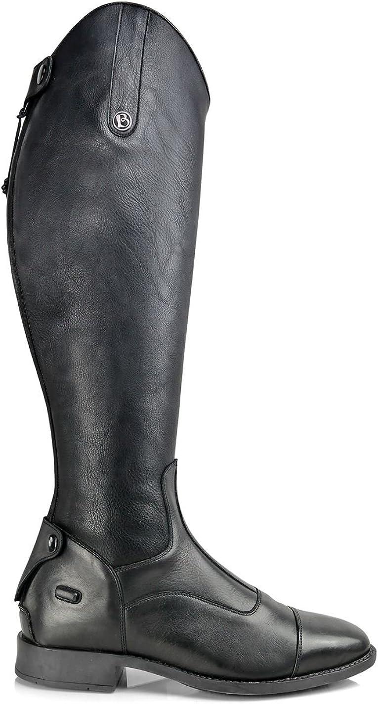Casperia Donna Brogini Stivali Alti da Equitazione in Pelle