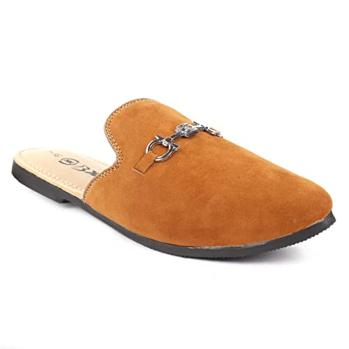 Suede Mules and Suede Loafers