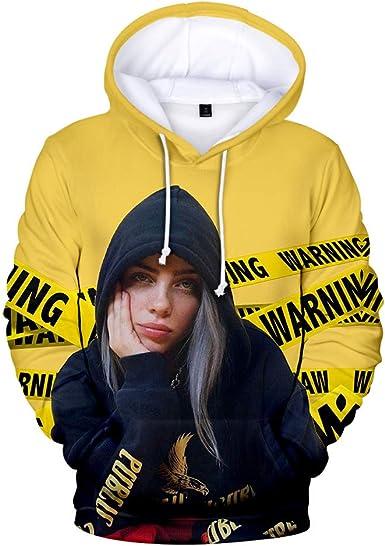 Amazon Com Billieeilish Hoodie Women Novelty Sweatshirts Pullover
