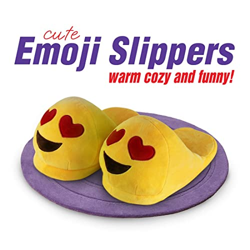 Clothing, Shoes & Accessories Honesty Kids Emoji Slippers