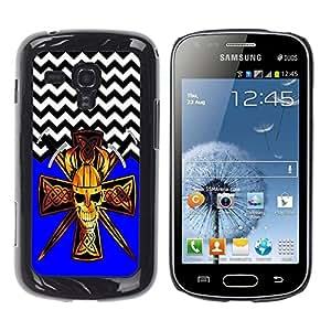 Dragon Case - FOR Samsung Galaxy S Duos S7562 - Broader field of vision - Caja protectora de pl??stico duro de la cubierta Dise?¡Ào Slim Fit
