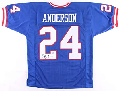 super popular d1761 c4bb8 Ottis Anderson #24 Signed New York Giants Throwback Jersey ...