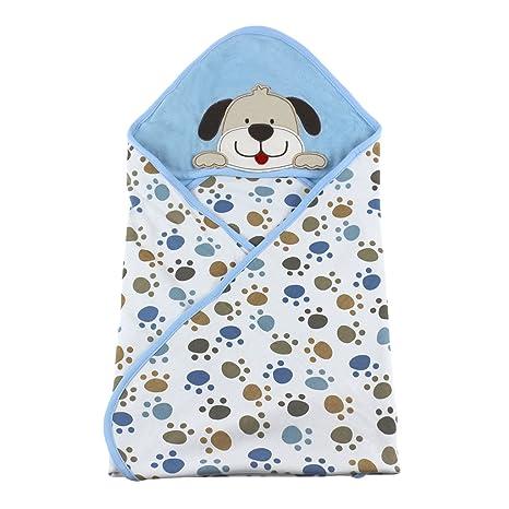 Vine Manta para bebés Babies Kids Baby Baño Toalla con capucha, 100% algodón.