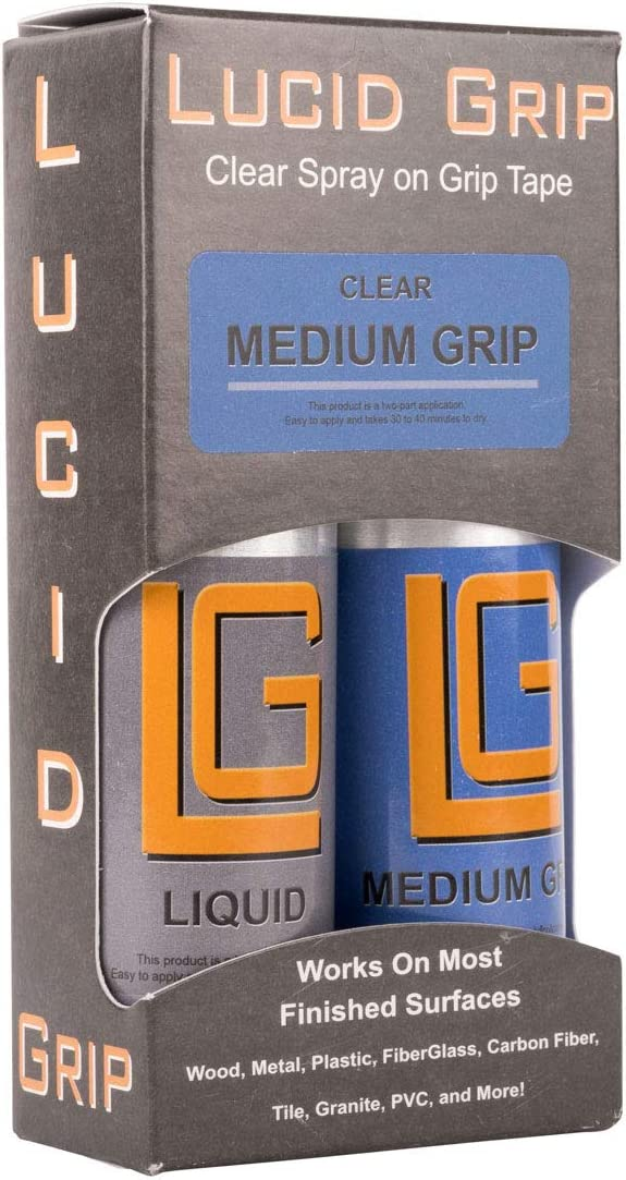 grano medio//Clear Lucid Grip/ /Kit completo