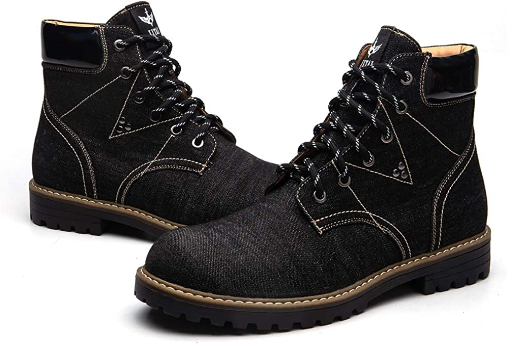 JITAI British Men Boots Autumn Winter Shoes Men Fashion