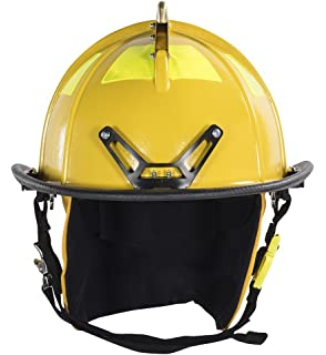 Fire Helmet, Black, Traditional: Hardhats: Amazon com