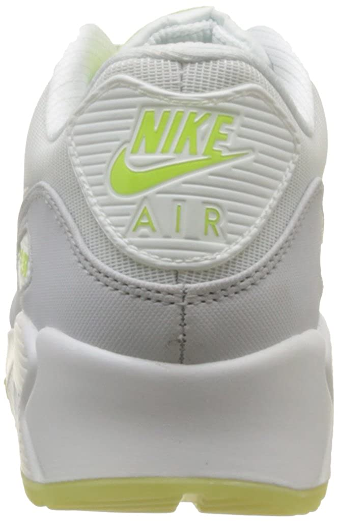 0c9d2bc9ea49 Nike Air Max 90 Premium Tape Glow in the dark white grey mint trainers  616317 103  UK 9   Amazon.co.uk  Shoes   Bags