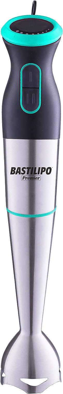 Bastilipo TURBOMIX-700-V Batidora de brazo TURBOMIX-700-R con 700W de potencia y control de velocidad variable, Verde