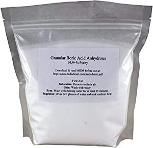 Duda Energy boric1 Granular Boric Acid H3BO3 99, 1 lb. (boric1f)