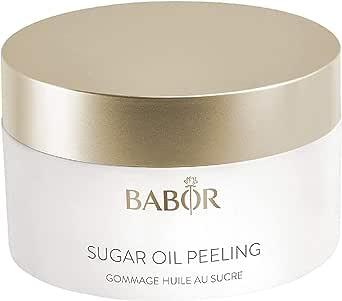 BABOR Cleansing Sugar Oil Peeling, vitaliserende 2-in-1 suiker-olie peeling, met natuurlijke argan-, sesam- en macadamianotenolie, 50 ml