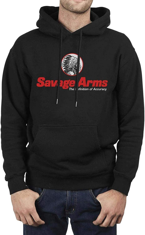 Fleece Sweatshirt Sweatshirt wrap Comfort Hoodie NAIT Savage-arm-Logo