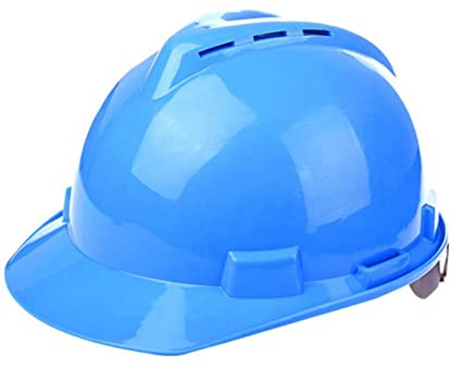 Casco Protector Respirable Del Casco Del ABS V-tipo Decoración Electricista Sitio Construcción Sombrero Especial