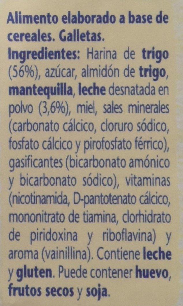 NESTLÉ PEQUEGALLETAS para bebés a partir de 12 meses - Paquete de 6 x 180 g: Amazon.es: Alimentación y bebidas