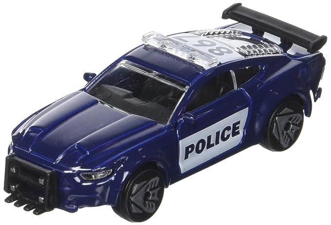 Majorette 203111007 - Transformers M5 Barricade, Miniatura Vehículo, Juguete Auto con piñón Libre, Die-Cast, 1: 64, 6 cm: Amazon.es: Juguetes y juegos
