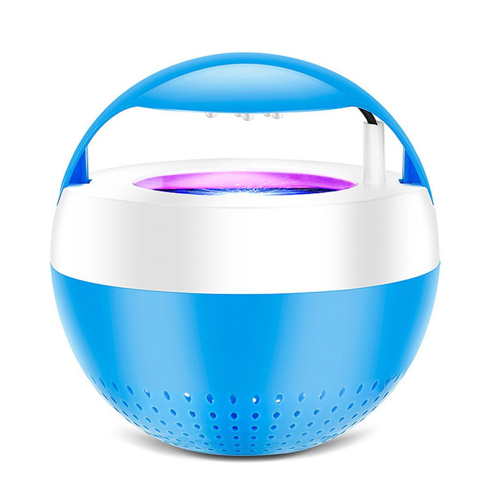 BEIGU USB Mosquito Killer Lamp Non-Chemical Flies Killer Money-Saving Mosquito Killer Lamp for Home Kitchen Yard Office
