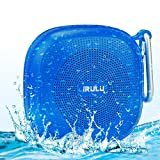 Portable Mini Wireless Bluetooth Speaker for Smartphone Tablet, Voice Prompt, Microphone for Hands Free CALL, Rechargeable Battery -- Blue