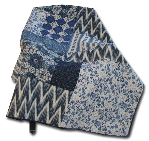 UPC 636047294852, Greenland Home Quilted Throw, Santorin