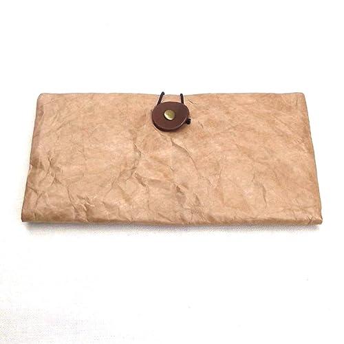 release date 00e75 594dd Amazon   クラフト紙財布、エコ財布   Peanut Zakka   財布