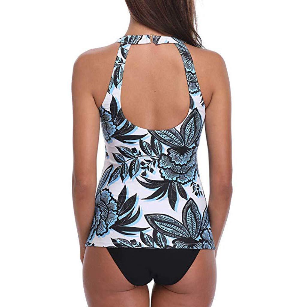 Womens Bohemian Print Swimsuit Two-Piece Set