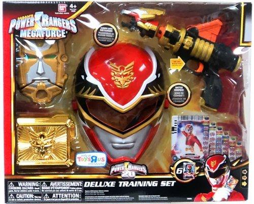 Power Ranger Deluxe Training Set, Red