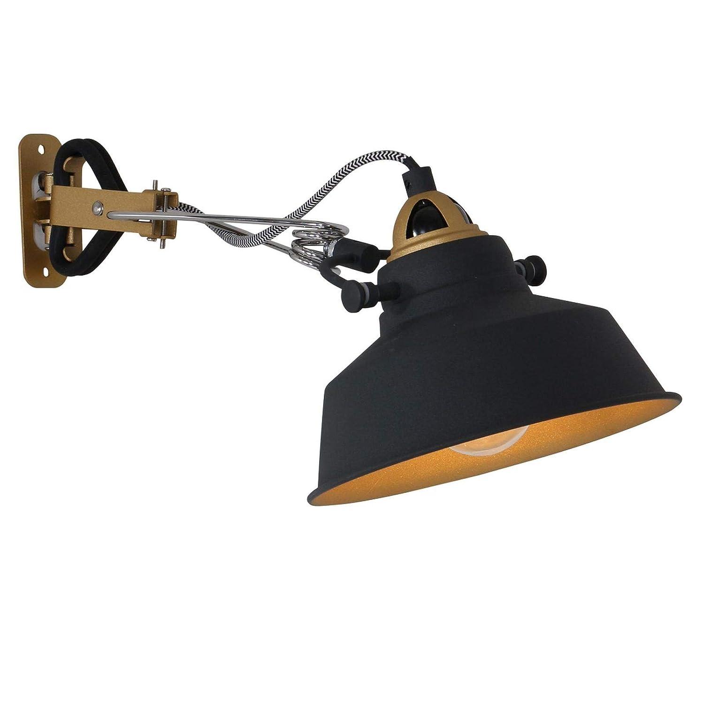 Wandlampe Steinhauer 1320ZW Leselicht Vintage Klemmleuchte Schalter verstellbar
